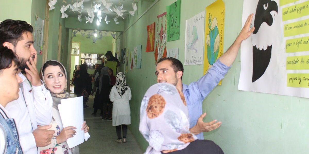 La Journée internationale de la Paix est célébrée à lIinstitut technique de Herat