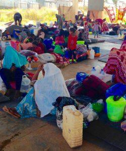 Le camp Adi Harush n'est pas équipé pour aider les nombreux nouveaux réfugiés et il y a une très forte pression pour obtenir des abris, de l'eau, des latrines, des rations de nourriture et des produits non-alimentaires.