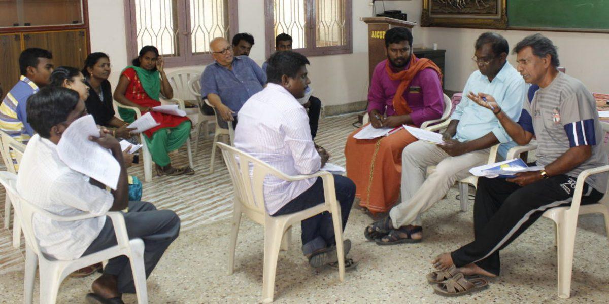 Formation en anglais pour le personnel de JRS à Tamil Nadu, en Inde (JRS)