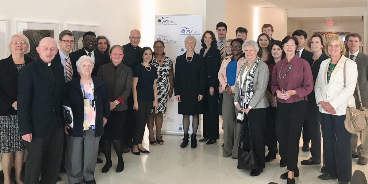 Des participants à la Journée du plaidoyer de JRS États-Unis (JRS)