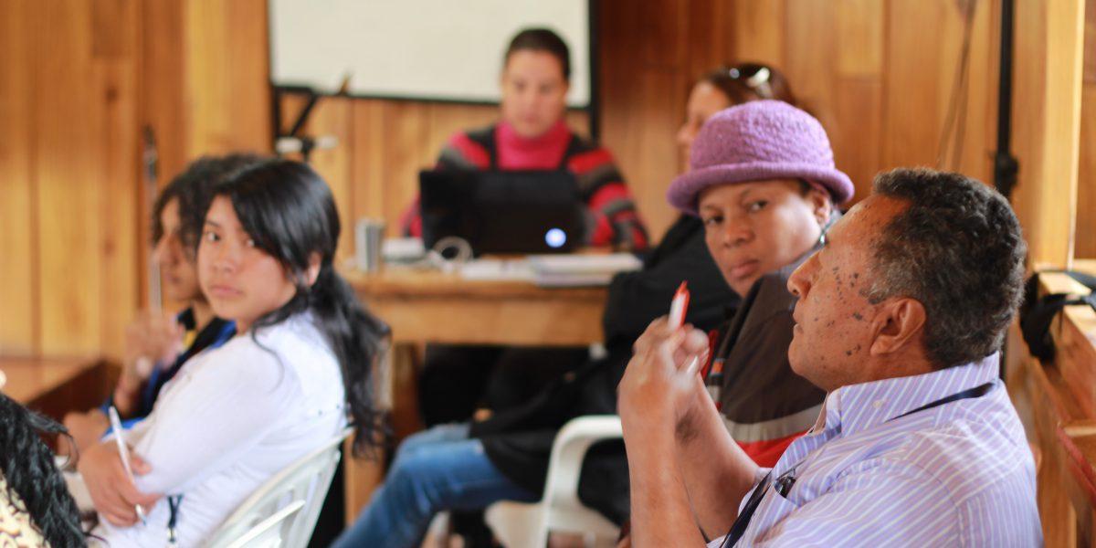 JRS Equateur organise des cours de citoyenneté pour que les réfugiés soient conscients de leurs droits.